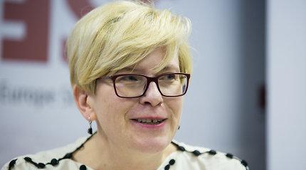I.Šimonytės užsienio politikos vizija: gilesnė integracija ES ir NATO, dėmesys partnerių problemoms