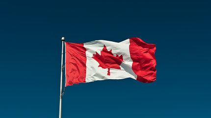 Kanados dienos proga Vilniaus rotušė nušvis šios šalies vėliavos spalvomis