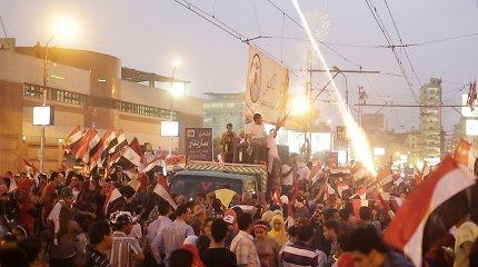 Egipto prezidento inauguracija: minia po aikštę tampė ir prievartavo nuogą merginą