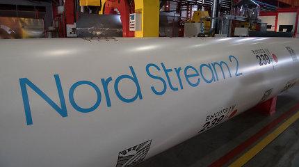 """Nutiesta daugiau kaip 2 tūkst. kilometrų dujotiekio """"Nord Stream 2"""""""