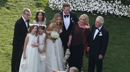 Buvęs Meghan Markle vyras Trevoras Engelsonas vedė amerikiečių multimilijardieriaus dukrą