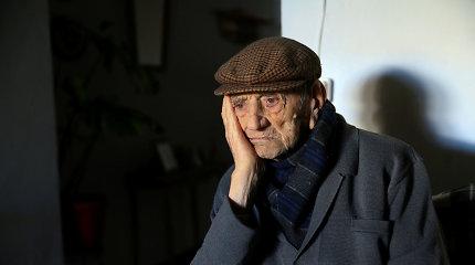 """Ispanijoje mirė """"seniausias pasaulyje vyras"""", jam buvo 113 metų"""