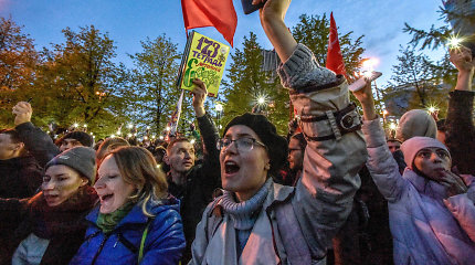 Jekaterinburgas po protestų atsisakė planų statyti katedrą