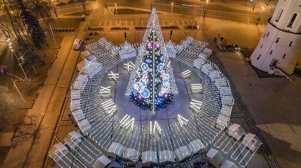 Šiemetinė Vilniaus Kalėdų eglė vėl renkama tarp gražiausių pasaulyje