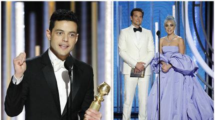 """""""Auksiniuose gaubliuose"""" išrinkti metų geriausieji: """"Bohemijos Rapsodija"""" nušluostė nosį Lady Gagai"""
