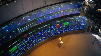 JAV akcijų indeksai stiebiasi aukštyn, dėmesio centre – žinios apie derybas su Kinija