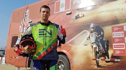 A.Gelažninkas užėmė 24-ą vietą, B.Bardauskui maratonas baigėsi lūžiais
