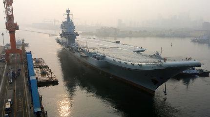 JAV analitikai: Kinija statosi trečią lėktuvnešį