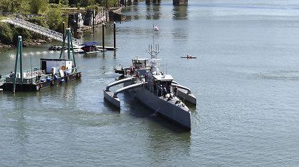 Amerikietiškas ateities ginklas – bepilotis povandeninių laivų medžiotojas