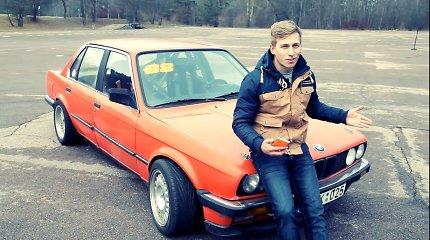 """N.Daunoravičius-Norbė grįžo prie savo šaknų: slys šonu """"Lietuvos drifto čempionate"""""""