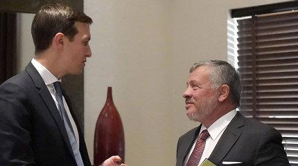 JAV prezidento patarėjas J.Kushneris susitiko su Jordanijos karaliumi derybų