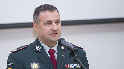 Naujasis policijos vadovas R.Požėla žada gerinti pareigūnų motyvaciją, sąlygas