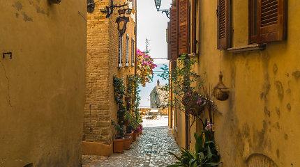 Vienas įdomiausių Italijos regionų – tiems, kas nori pabėgti nuo turistų ir sutaupyti