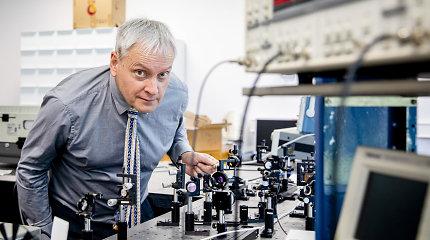 """Mokslo ir inovacijų lyderiai pristato naujoves: terahercų """"žvilgsnis"""" į daiktų vidų, dirbtinės ragenos, datavimas radioanglimi ir naujos nanomedžiagos"""