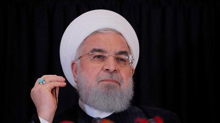 """H.Rouhanipo keleivinio lėktuvo numušimo ragina Iraną laikytis """"nacionalinės vienybės"""""""