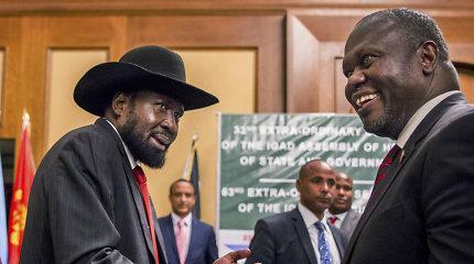 Vatikanas skelbia priimsiantis Pietų Sudano kariaujančių šalių lyderius