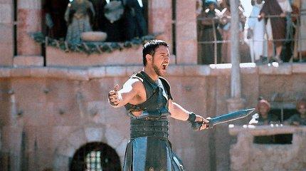 """Filmas """"Gladiatorius"""" – istorijos prievartavimas, tenkinant masių poreikius"""