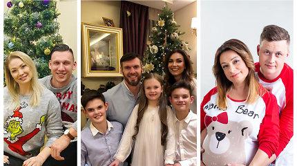 Žinomų žmonių Kalėdos: prie įspūdingų eglių, vaišėmis nukrautų stalų ir su naujienomis apie gandrus