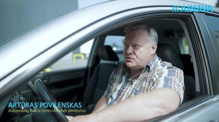 """Automobilių švaros centro """"Ainava"""" direktorius papasakojo, kaip mėgautis automobilio plovimu"""