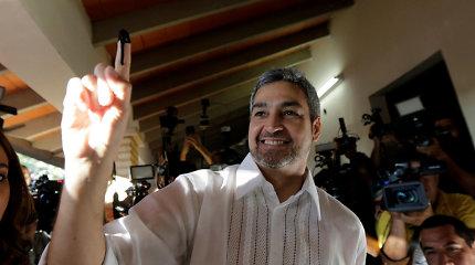 Paragvajaus prezidento posto siekia sąsajų su diktatoriumi turintis politikas