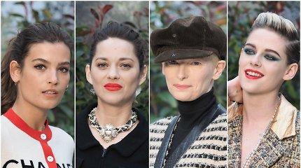 """""""Chanel"""" šou svečių stilius: ką vilkėjo Holivudo aktorės ir prancūzų modeliai?"""