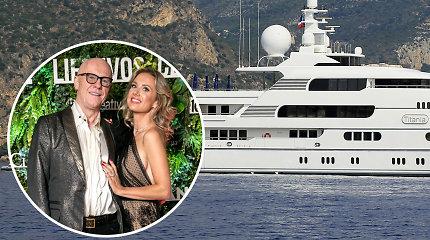 Už savaitę M.Vžesniauskaitės mylimojo J.Caudwello jachtoje prašoma 630 tūkst. eurų: pamatykite jos vidų