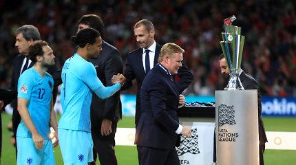 Tautų lygos finale kritę Nyderlandų talentai jau dairosi į naujas viršūnes