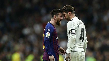 "Vėl nutildė Madridą: karštas ""El Clasico"" vakaras baigėsi dar viena ""Barcelona"" pergale"