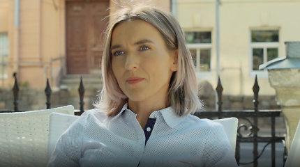 "Eglė Ancevičiūtė seriale ""Rimti reikalai"""