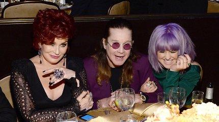 Rokerio Ozzy Osbourne'o ir jo žmonos Sharon Osbourne gyvenimo akimirkos