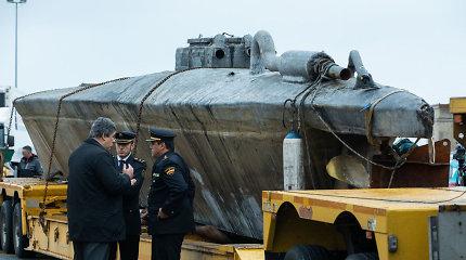 Ispanijoje sulaikytas povandeninis laivas gabeno 100 mln. eurų vertės kokainą
