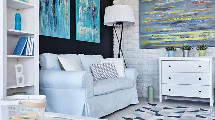 Maži namai gali atrodyti didesni: patarimai, kaip paprastais būdais optiškai praplėsti erdvę