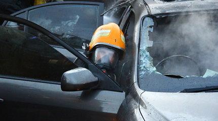"""Kaune pavogtas 13 500 eurų vertės """"Ford"""", o """"Volvo"""" ir BMW supleškėjo"""