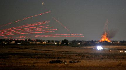 """Iranas paleido raketųį""""teroristų"""" stovyklą Sirijoje"""