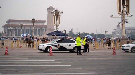 Tiananmenio skerdynių metines Kinija mini tyla ir sustiprintu saugumu
