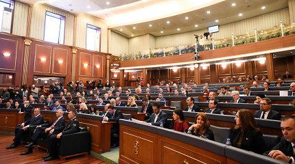Kosovo parlamento pirmalaikiai rinkimai vyks spalio 6-ąją
