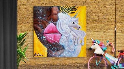 Šokėja, tapytoja Monisha Modesta Butautytė