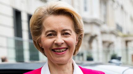 EK vadovė: judėjimo laisvė svarbi norint susitarti dėl laisvosios prekybos su JK