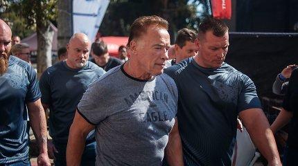 Per sporto renginį Pietų Afrikoje užpultas Arnoldas Schwarzeneggeris