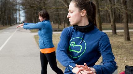 Noriu bėgti: trenerę nuoširdžiai tikindavau, kad tiek tikrai negaliu nubėgti