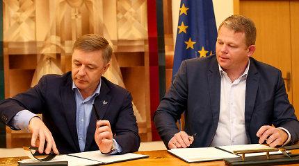 R.Karbauskis nepatenkintas, kad ŽŪM nebus keliama į Kauną: klausimą kels koalicijos taryboje