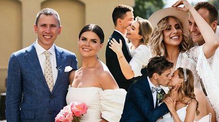 Karantinas šių porų neišgąsdino: išrinkite įspūdingiausias 2020 metų žinomų žmonių vestuves