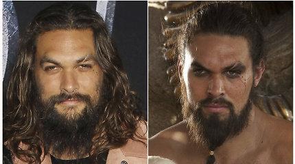 Jasonas Momoa gerbėjus nustebino išvaizdos pokyčiais: po 7 metų dėl kilnaus tikslo nusiskuto barzdą