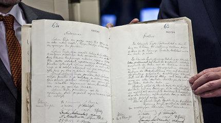 Padirbėti Rusijos archyvuose Lietuvos istorikams trukdo tik lėšų stygius