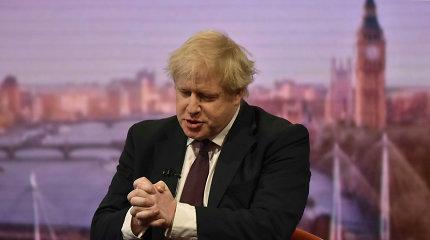 """Britų premjeras B.Johnsonas planuoja po """"Brexit"""" performuoti ministrų kabinetą"""