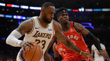 """Pergalingą """"Lakers"""" seriją Los Andžele nutraukė NBA čempionai"""
