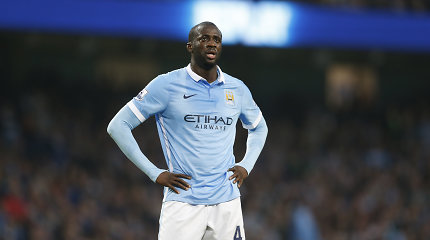 """Yaya Toure nereikalingas """"Manchester City"""" – Čempionų lygoje jis nežais"""