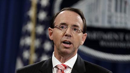 Žiniasklaida: JAV generalinio prokuroro pavaduotojas ruošiasi atsistatydinti