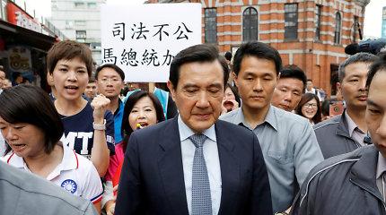 Taivano eksprezidentas nuteistas kalėti dėl informacijos nutekinimo
