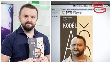 """Internete nelegaliai išplatinta Stano knyga: ketina kreiptis į """"Linkomanijos"""" administraciją"""